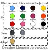 Versierendoejezo Muursticker you never know what you have until its gone like toilet paper in de kleur zwart
