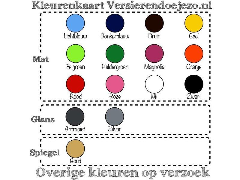 Versierendoejezo Muursticker wish you were beer in de kleur zwart. Eenvoudig aan te brengen op muur, deur of raam. In verschillende kleuren beschikbaar. Afmeting: 50 cm x 55 cm