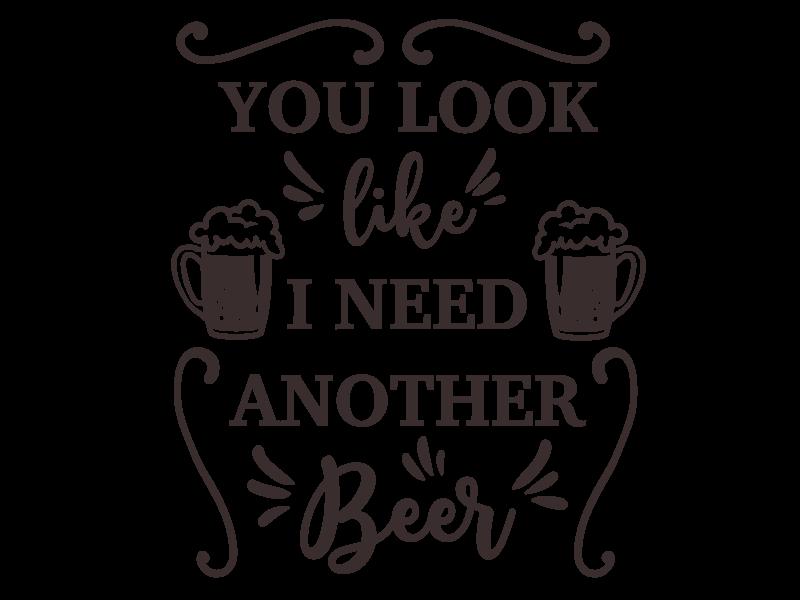 Versierendoejezo Muursticker when in doubt drink a stout in de kleur zwart. Eenvoudig aan te brengen op muur, deur of raam. In verschillende kleuren beschikbaar. Afmeting: 50 cm x 55 cm