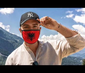 Mondmasker Vlag Albanië
