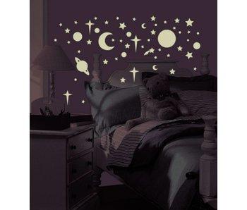 Celestial   Glow in the dark sterrenhemel