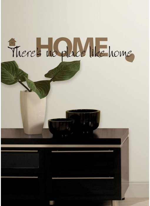 Roommates No Place Like Home  tekststicker