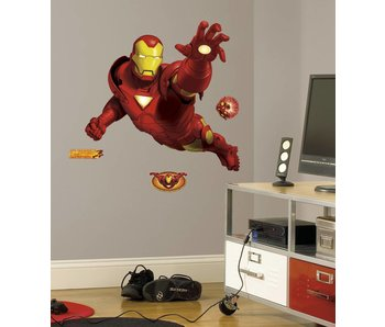 Roommates Iron man muursticker
