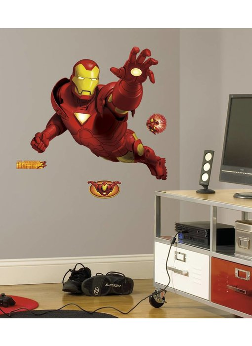 Marvel Iron man muursticker