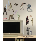 Star Wars Star Wars figuren muursticker