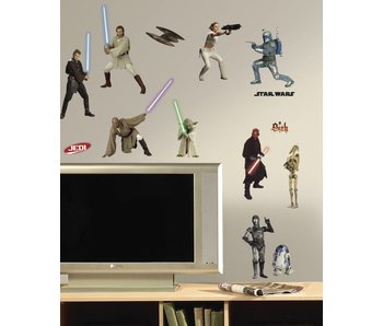 Star Wars Star Wars figuren muursticker