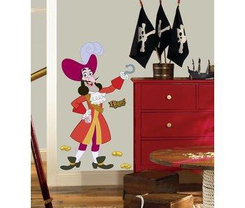 Disney Kapitein Haak muursticker