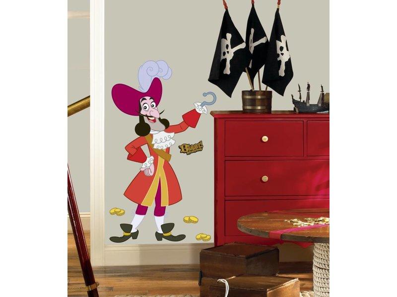 Walt Disney Kapitein Haak muursticker