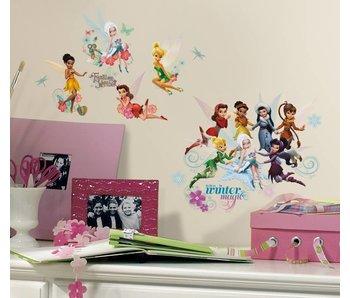 Walt Disney Winter elfjes en feeën muursticker
