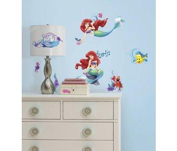 Disney De kleine zeemeermin muursticker