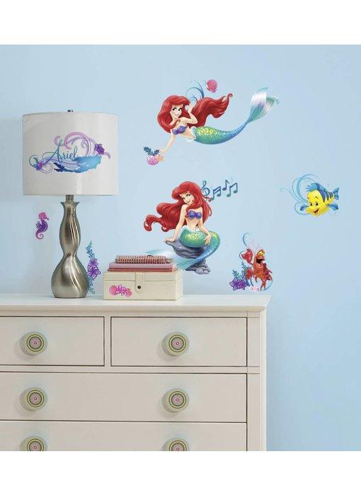 Walt Disney De kleine zeemeermin muursticker