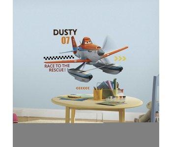 Disney Planes redden en blussen Dusty muursticker
