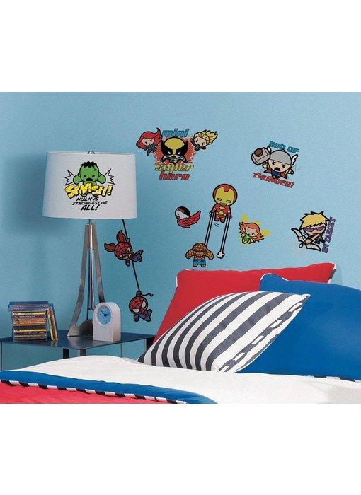Marvel Super Hero Squad muursticker Kawaii Art