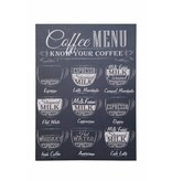 Clayre & Eef Canvas doek Coffee