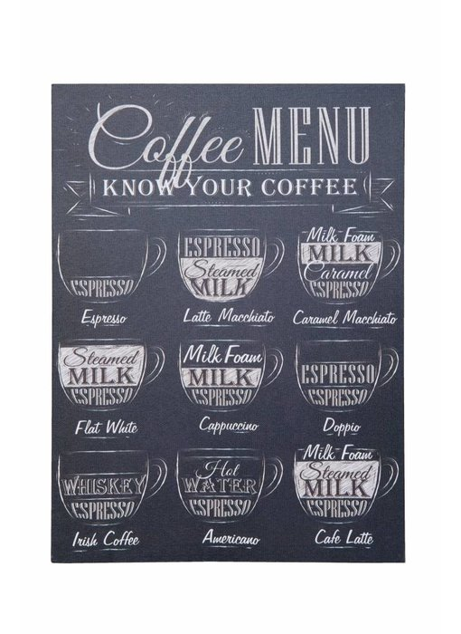 Clayre & Eef Canvas doek Coffee