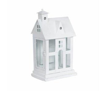Huis wit verlichting