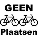 Geen fietsen plaatsen sticker