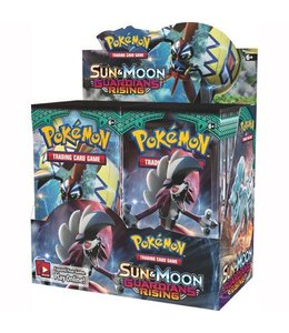 Pokemon Sun & Moon Guardians Rising Booster