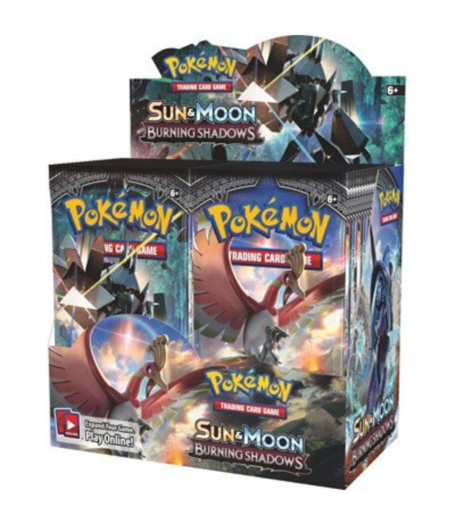 Pokemon Sun & Moon Burning Shadows Booster