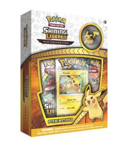 Pokemon Shining Legends Pikachu Pin Collection