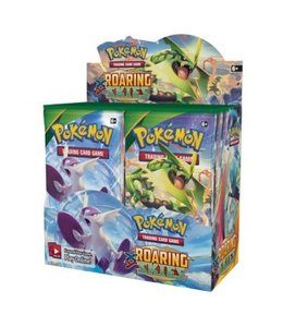 Pokemon Roaring skies Booster