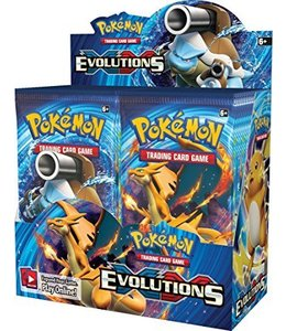 Pokemon Evolutions Booster
