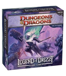 Wizards of the Coast Dungeons & Dragons Legend of Drizzt Boardgame
