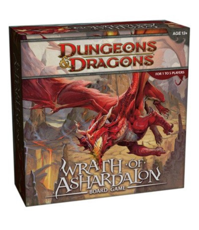 Wizards of the Coast Dungeons & Dragons Wrath of Ashardalon Boardgame