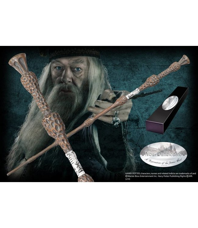 Noble Collection Albus Dumbledore Character Wand