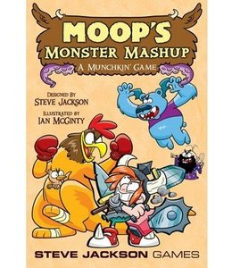 Steve Jackson Games Moops Monster Mashup - A Munchkin Game