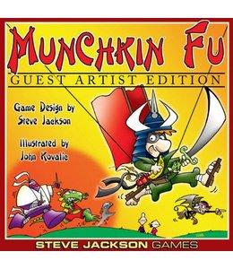 Steve Jackson Games Munchkin Fu Guest Artist Edition