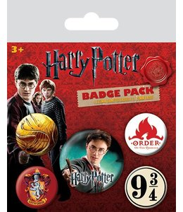 GYE Harry Potter Pin Badges 5-Pack Gryffindor