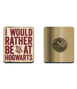 GYE Harry Potter Badge Hogwarts Slogan