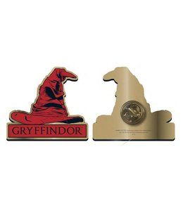 GYE Harry Potter Badge Gryffindor Sorting Hat