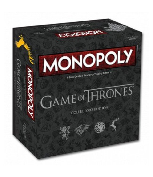 Winning Moves Monopoly Game of Thrones Collectors Edition