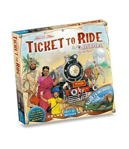 Days of Wonder Ticket to Ride - India & Switzerland