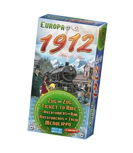 Days of Wonder Ticket to Ride - Europa 1912 Expansion