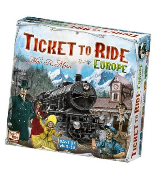 Days of Wonder Ticket to Ride Europe - NL