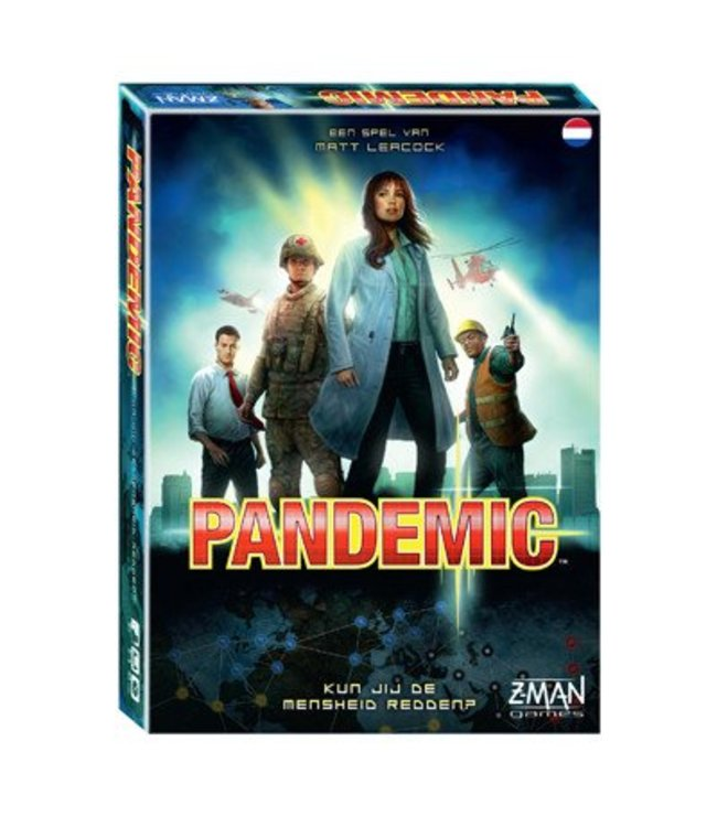 Z-Man Games Pandemic NL