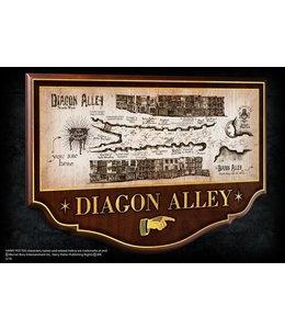 Noble Collection Diagon Alley Wall Plaque