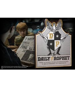 Noble Collection Daily Prophet Wall Plaque