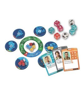 Z-Man Games Pandemic The Cure  Dice Game