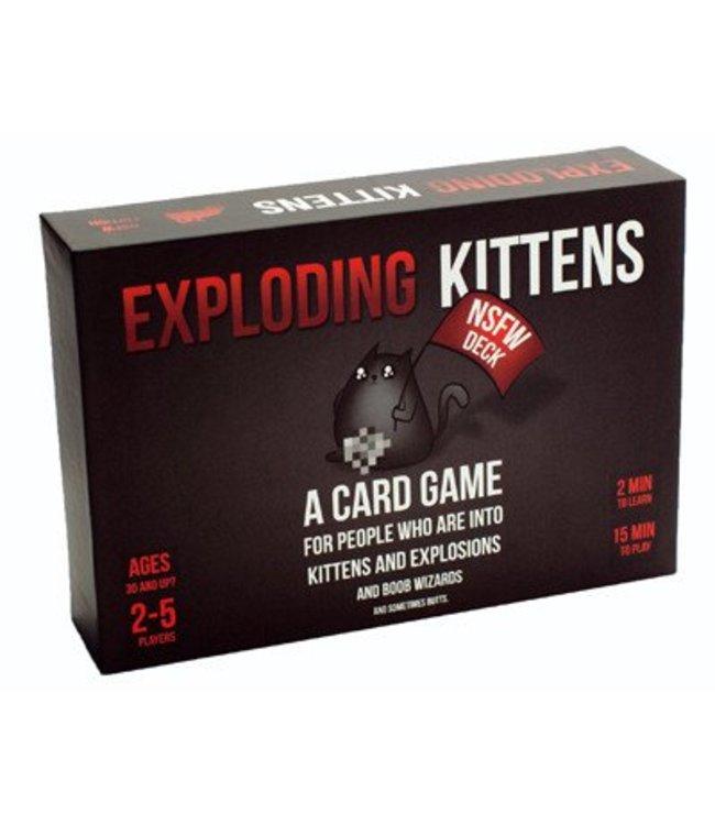 Exploding Kittens Exploding Kittens NSFW Edition