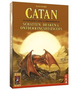 999 Games Catan Schatten. Draken and Ontdekkingsreizigers