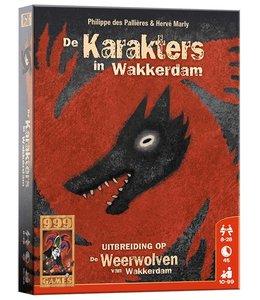 999 Games De Weerwolven van Wakkerdam Karakters