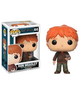 Funko Harry Potter POP! Movies Vinyl Figure Ron Weasley with Scabbers 9 cm