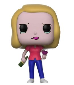 Funko Rick and Morty POP! Animation Vinyl Figure Beth with Wine Glass 9 cm