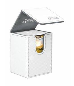 Ultimate Guard Ultimate Guard Flip Deck Case 80+ Standard Size XenoSkin White