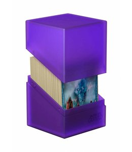 Ultimate Guard Ultimate Guard Boulder Deck Case 100+ Standard Size Amethyst