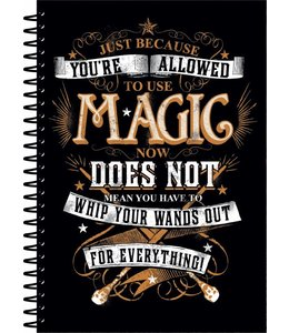 Half Moon Bay Harry Potter Notebook A5 Magic